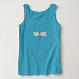 Camisetas sin mangas de la libélula