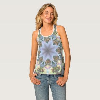 Camisetas sin mangas de la mandala de Starburst de
