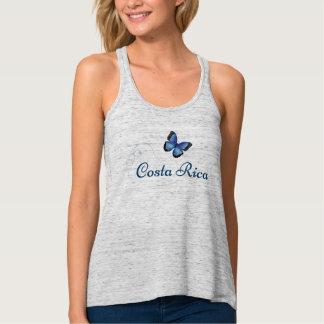 Camisetas sin mangas de la mariposa de Costa Rica