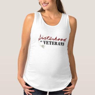 Camisetas sin mangas de la maternidad de la