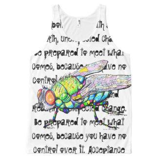 Camisetas sin mangas de la mosca del Punky