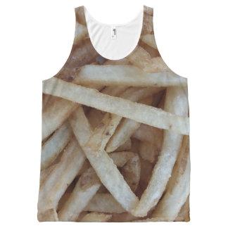 Camisetas sin mangas de las patatas fritas