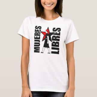 camisetas sin mangas de los libres de los mujeres