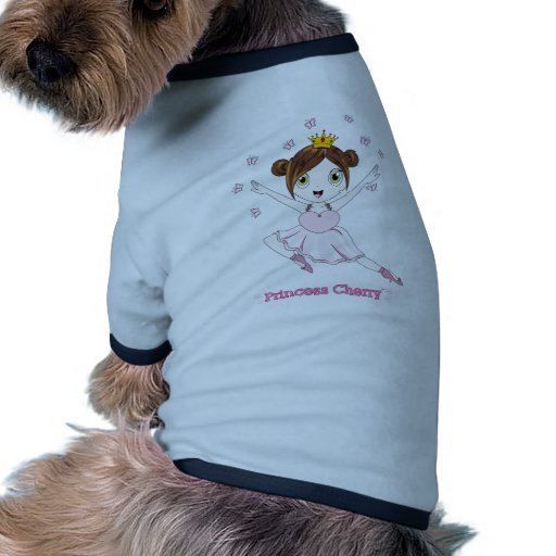 Camisetas sin mangas de princesa Cherry™ Dog Ropa Macota