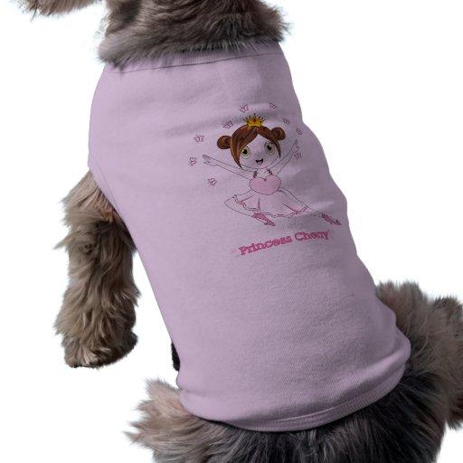 Camisetas sin mangas de princesa Cherry™ Dog Camiseta De Perrito