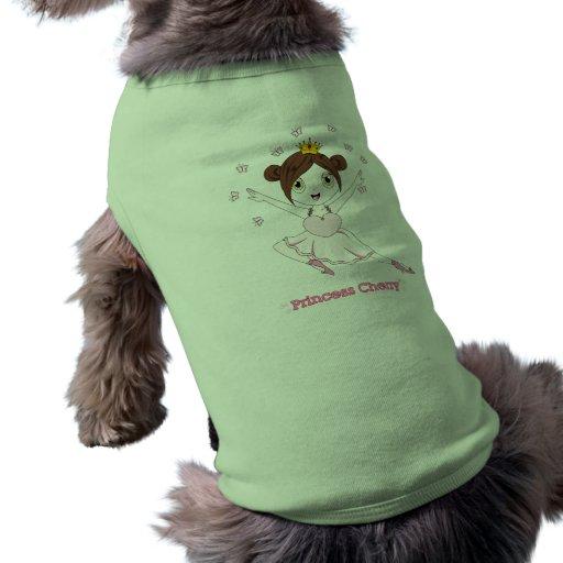 Camisetas sin mangas de princesa Cherry™ Dog Camisetas Mascota