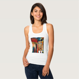 Camisetas sin mangas de Racerback del ajustado de