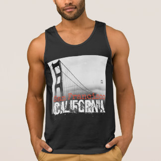 Camisetas sin mangas de San Francisco California