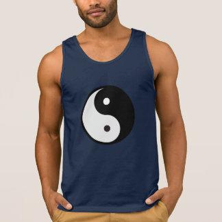 camisetas sin mangas de yang del yin