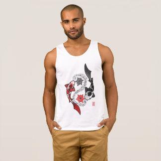 Camisetas sin mangas de Yin Yang de los pescados