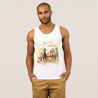 Camisetas sin mangas del algodón de los hombres