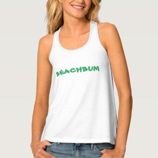 """Camisetas sin mangas del """"BEACHBUM"""" Racerback de"""