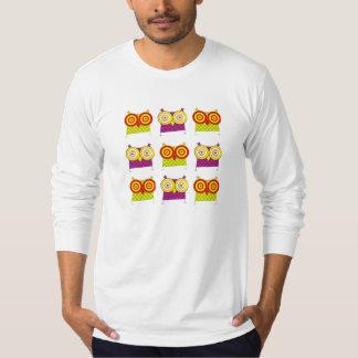Camisetas sin mangas del búho de Hypno