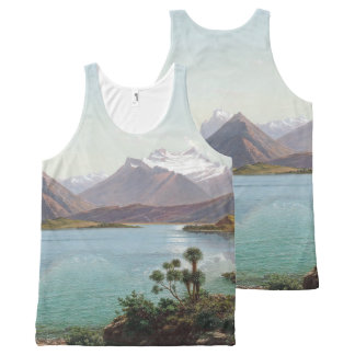 Camisetas sin mangas del desierto de Wakutipu