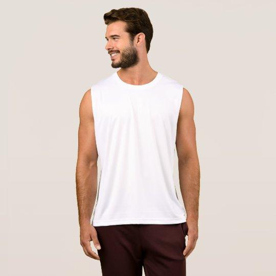 Camiseta de tirantes de alto rendimiento, Blanco