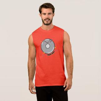 Camisetas sin mangas del lanzador de disco de