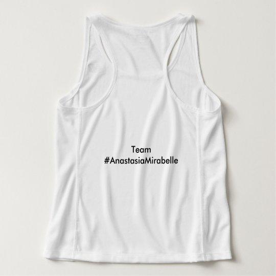 Camisetas sin mangas del mirabel de Anastasia