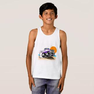 Camisetas sin mangas del monster truck para los