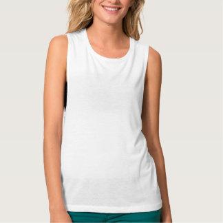 Camisetas sin mangas del músculo de Bella Flowy de