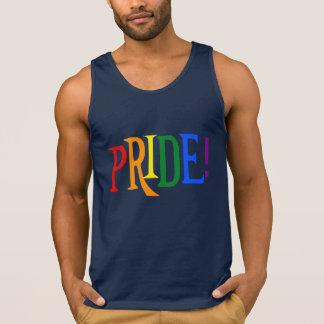 Camisetas sin mangas del orgullo del arco iris de