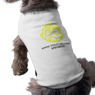 Camisetas sin mangas del perrito de Spegbog Ropa De Perros