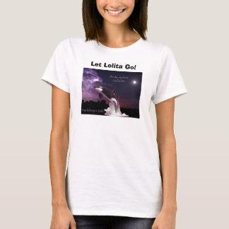 ¡Camisetas sin mangas del retiro de Lolita de la Camiseta