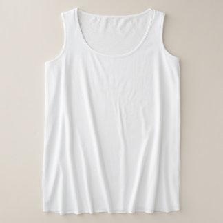 Camisetas sin mangas del tamaño extra grande de