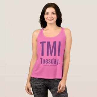 Camisetas sin mangas del TMI martes… T.T.T.T.