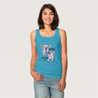 Camisetas sin mangas del vegano de la comida de