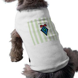 Camisetas sin mangas GRN del perrito del ornamento
