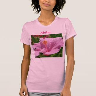 Camisetas sin mangas hawaianas de la flor