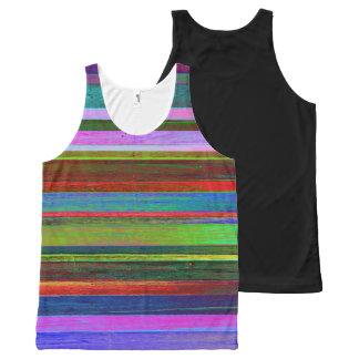 Camisetas sin mangas intrépidas de la raya