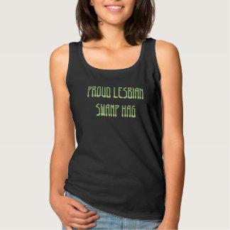 Camisetas sin mangas lesbianas orgullosas de la