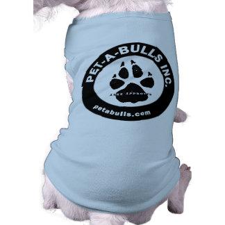 Camisetas sin mangas o camiseta del perrito de los camisetas mascota