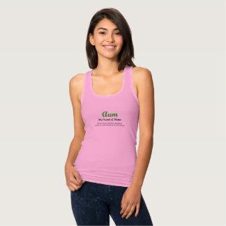 camisetas sin mangas OM-delgadas del ajuste para