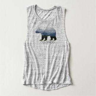 Camisetas sin mangas para mujer del oso el  