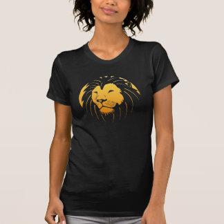 Camisetas sin mangas pesadas del león de las señor