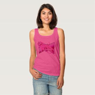 Camisetas sin mangas rosadas de Camo de las