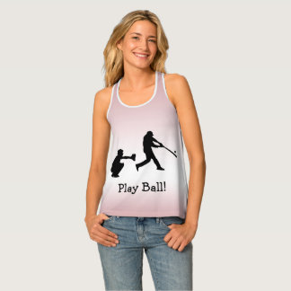 Camisetas sin mangas rosadas femeninas de la bola