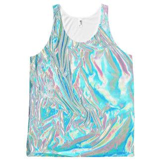 Camisetas sin mangas unisex iridiscentes
