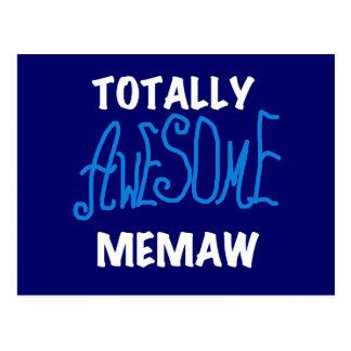 Camisetas totalmente impresionantes del azul de postal