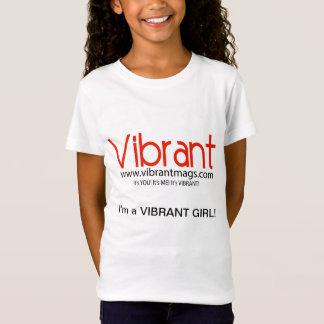 Camisetas vibrante de la niña