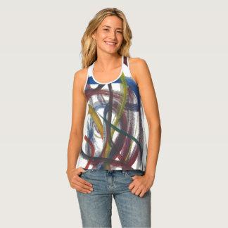 Camisetas y camisetas pintados de deporte