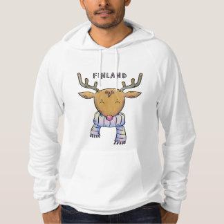 Camisetas y chaquetas lindos del reno de Finlandia