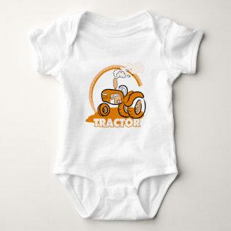 Camisetas y regalos anaranjados del tractor
