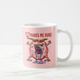 Camisetas y regalos antis del día de San Valentín Taza De Café