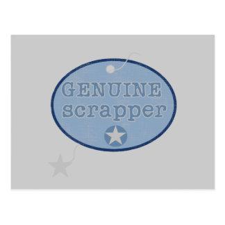 Camisetas y regalos auténticos del Scrapper Postales