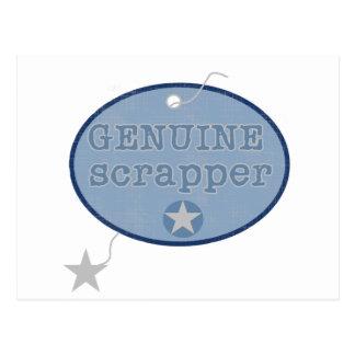 Camisetas y regalos auténticos del Scrapper Postal