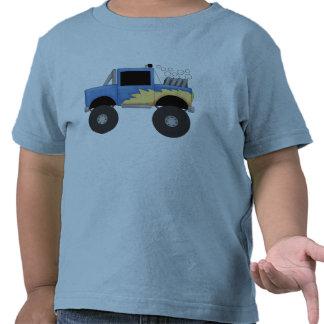 Camisetas y regalos azules del monster truck