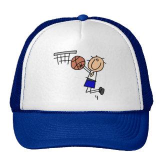 Camisetas y regalos azules del tiro en suspensión  gorras de camionero